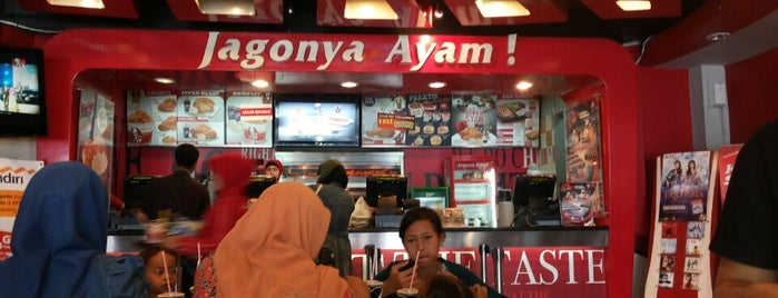 KFC is one of Top 10 favorites places in Banten, Indonesia.