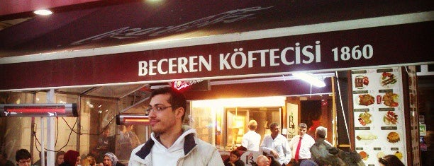 Beceren Köftecisi is one of yeni yerler.