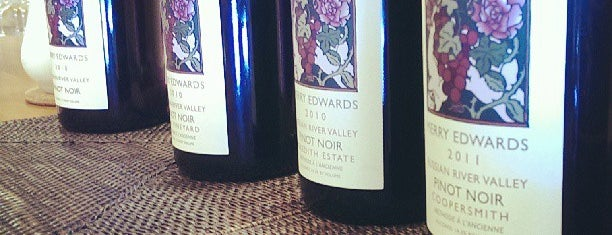 Merry Edwards Winery is one of Sonoma.