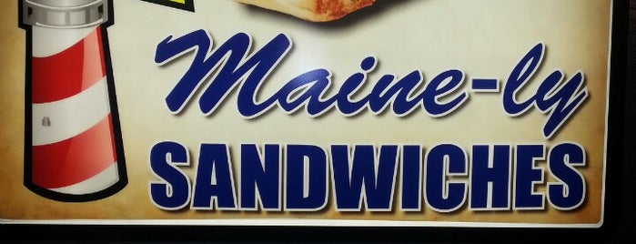 Maine-ly Sandwiches is one of Places to try.