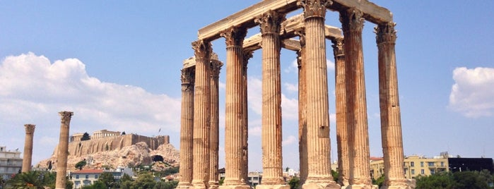 Temple Of Olympian Zeus is one of Parthenon.