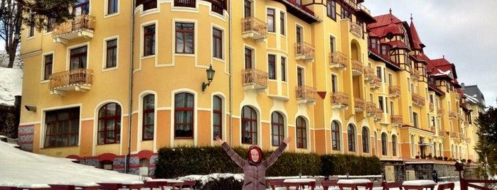 Grandhotel Praha is one of TREND Top restaurants.