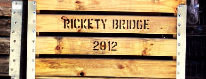 Rickety Bridge Winery is one of To visit: Food.