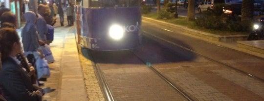 Işıklar 1 Tramvay Durağı is one of Antalya Nostaljik Tramvay Durakları.
