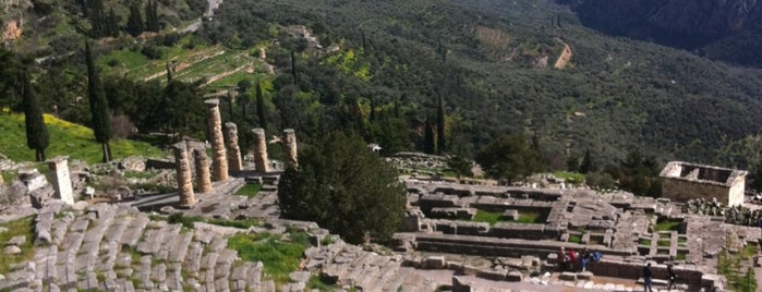 Archaeological Site of Delphi is one of Bill.
