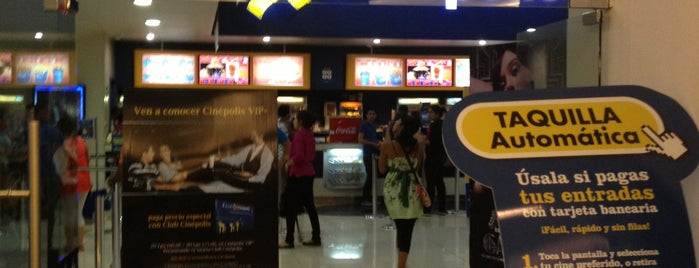 Cinepolis is one of My places.