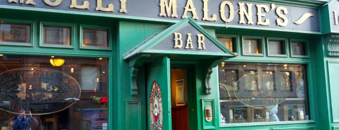 Molly Malone's is one of Party hard.