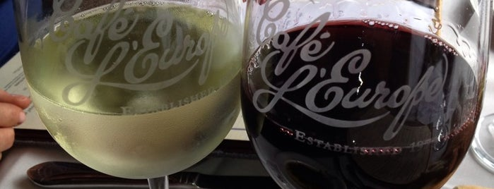 Cafe L'Europe is one of DRINKING in SRQ.