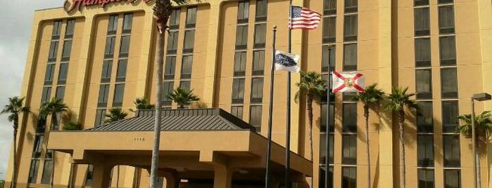 Hampton Inn Orlando Near Universal Blv/International Dr is one of The 15 Best Hotels in Orlando.