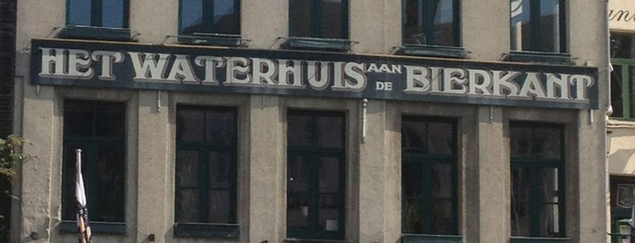 Het Waterhuis aan de Bierkant is one of Student van UGent.