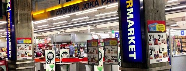 K-supermarket is one of Vakiot.