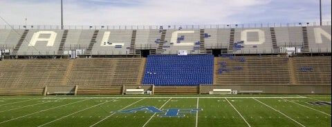 US Air Force Academy Falcon Stadium is one of Stadiums.