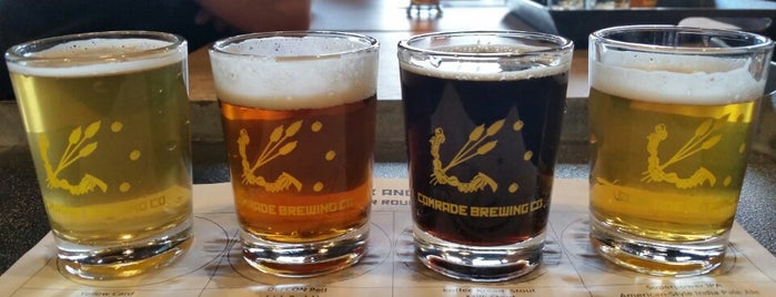 Comrade Brewing Company is one of The 15 Best Places for Stout Beers in Denver.
