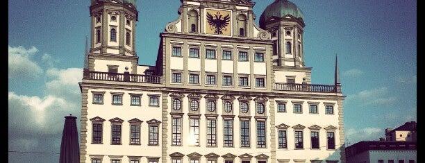 Rathausplatz is one of Guide to Augsburg's best spots.