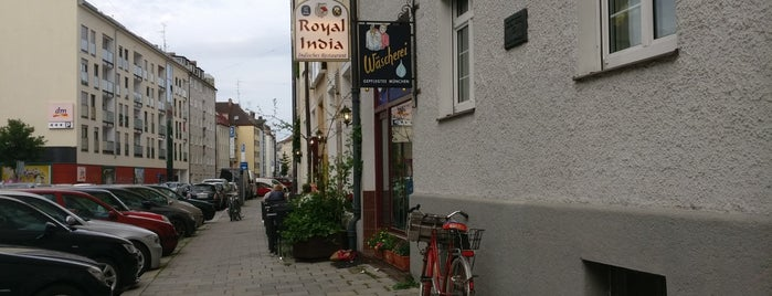 Royal India Restaurant is one of München.