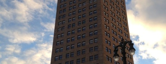 Broderick Tower is one of Detroit in Ruins.