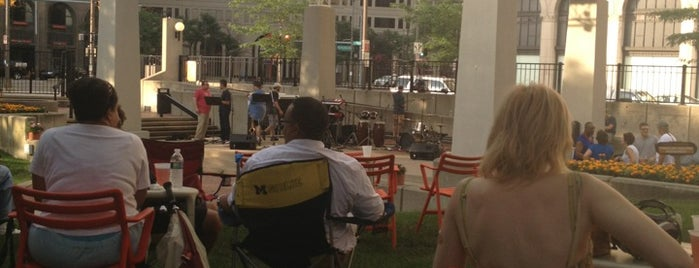 New Center Park is one of The 15 Best Places with Live Music in Detroit.