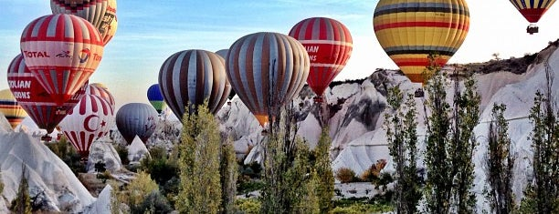 Love Valley is one of Cappadocia.