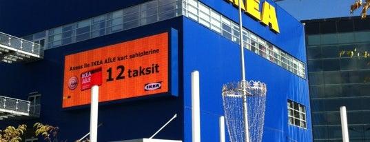 IKEA is one of Gidilenler.