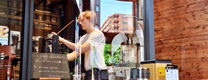 Allpress Espresso Tokyo Roastery & Cafe is one of To drink Japan.