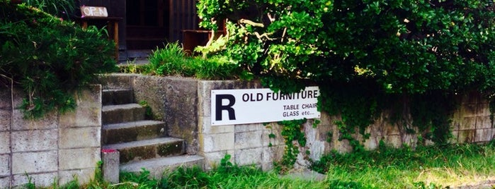 R OLD FUNITURE is one of Tokyo.