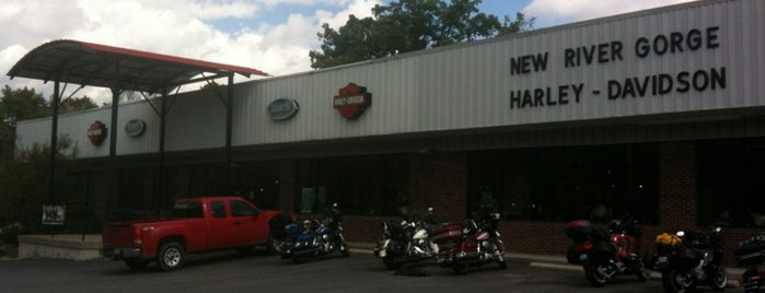New River Gorge Harley-Davidson is one of Must Remember To Stop.