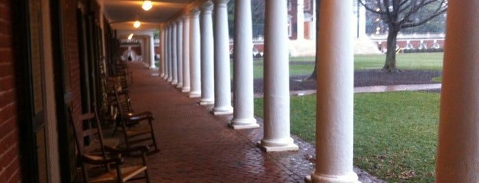 University of Virginia is one of College Love - Which will we visit Fall 2012.