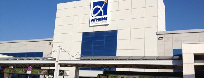 Athens International Airport Eleftherios Venizelos (ATH) is one of My Airports.