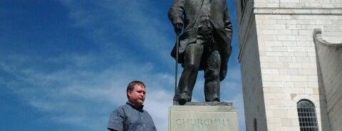 Sir Winston Churchill Quadrangle is one of Westminster yo!.