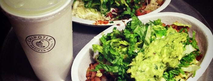 Chipotle Mexican Grill is one of The Lunch.