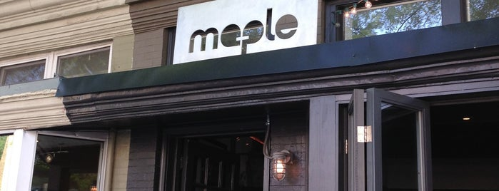 Maple is one of My places.