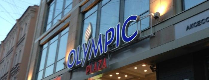 Olympic Plaza is one of Торговые центры в Санкт-Петербурге.