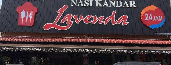 Nasi Kandar Lavendar is one of Makan @ Melaka/N9/Johor #15.