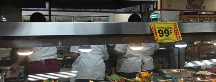 La Michoacana Meat Market is one of mex.