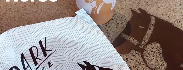 Dark Horse Coffee Roasters is one of LAS/LAX/SAN.