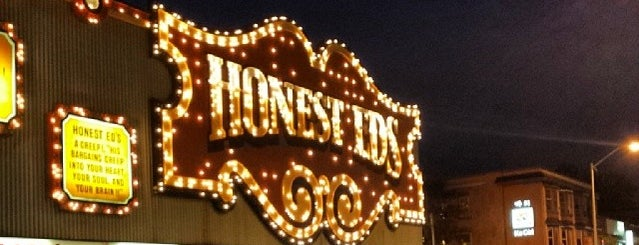 Honest Ed's is one of Malls in the GTA.