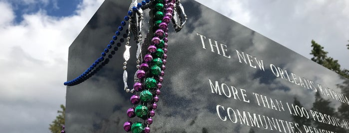 New Orleans Katrina Memorial is one of Top picks for Cemeteries.