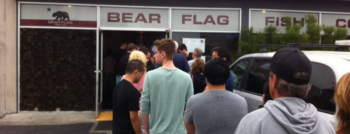 Bear Flag Fish Company is one of California's Top 20 Burrito Places.