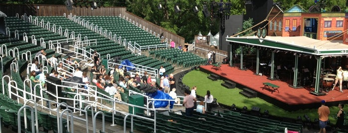 Delacorte Theater is one of Coalition Partners - One Percent for Culture.