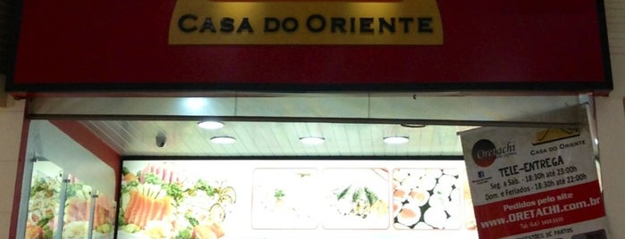 Casa do Oriente is one of Food.