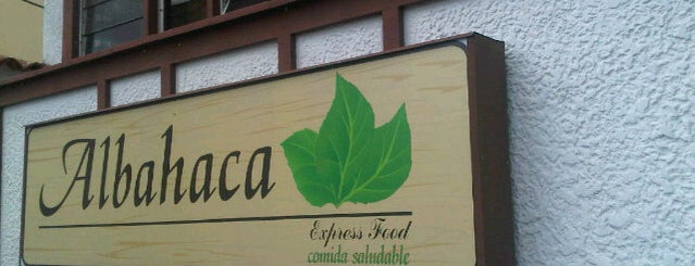 Albahaca is one of Restaurantes.