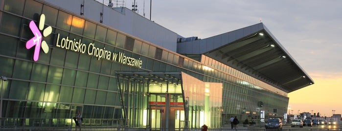 Warsaw Chopin Airport (WAW) is one of Warsaw.