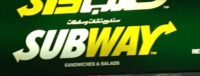 Subway is one of Caribu caffe.