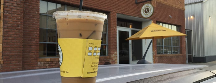 Cafe Virtuoso is one of Downtown San Diego Coffee Spots.