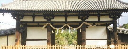 東大寺 転害門 is one of お気に入り.