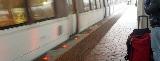 Greenbelt Metro Station is one of WMATA Train Stations.