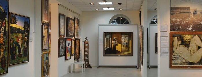 Екатеринбургская галерея современного искусства / Yekaterinburg Gallery of Modern Art is one of досуг.