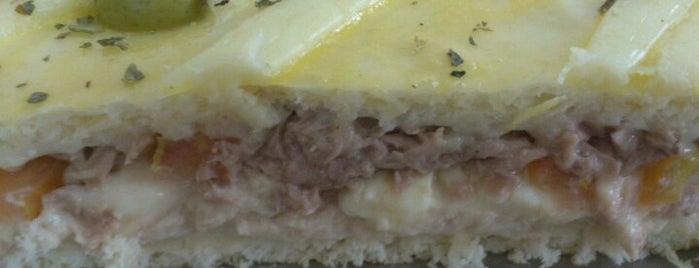 Lany Minipizza e Confeitaria is one of preferidos.