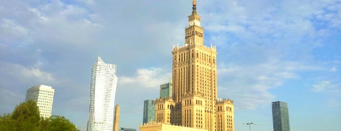Warsaw is one of World Capitals.