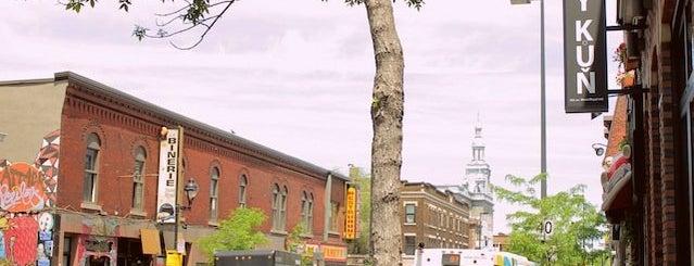 Bílý Kůň is one of Best Terrasses in Montreal.